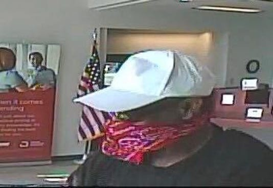 New Cumberland Federal Credit Union robber