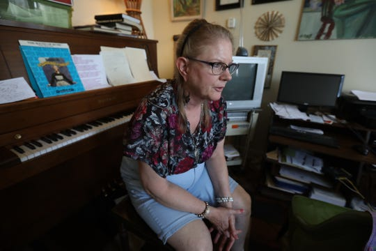 Michele Egan-Sturtevant is moving out at the end of October. She and her husband are afraid they won't be able to afford rent once the renovation project is complete.