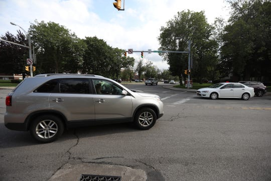 Monroe County is planning on improving suburban crosswalks.  One of the planned improvements is the crosswalk at Winton Rd. And Elmwood Ave. in Brighton near the fire station.
