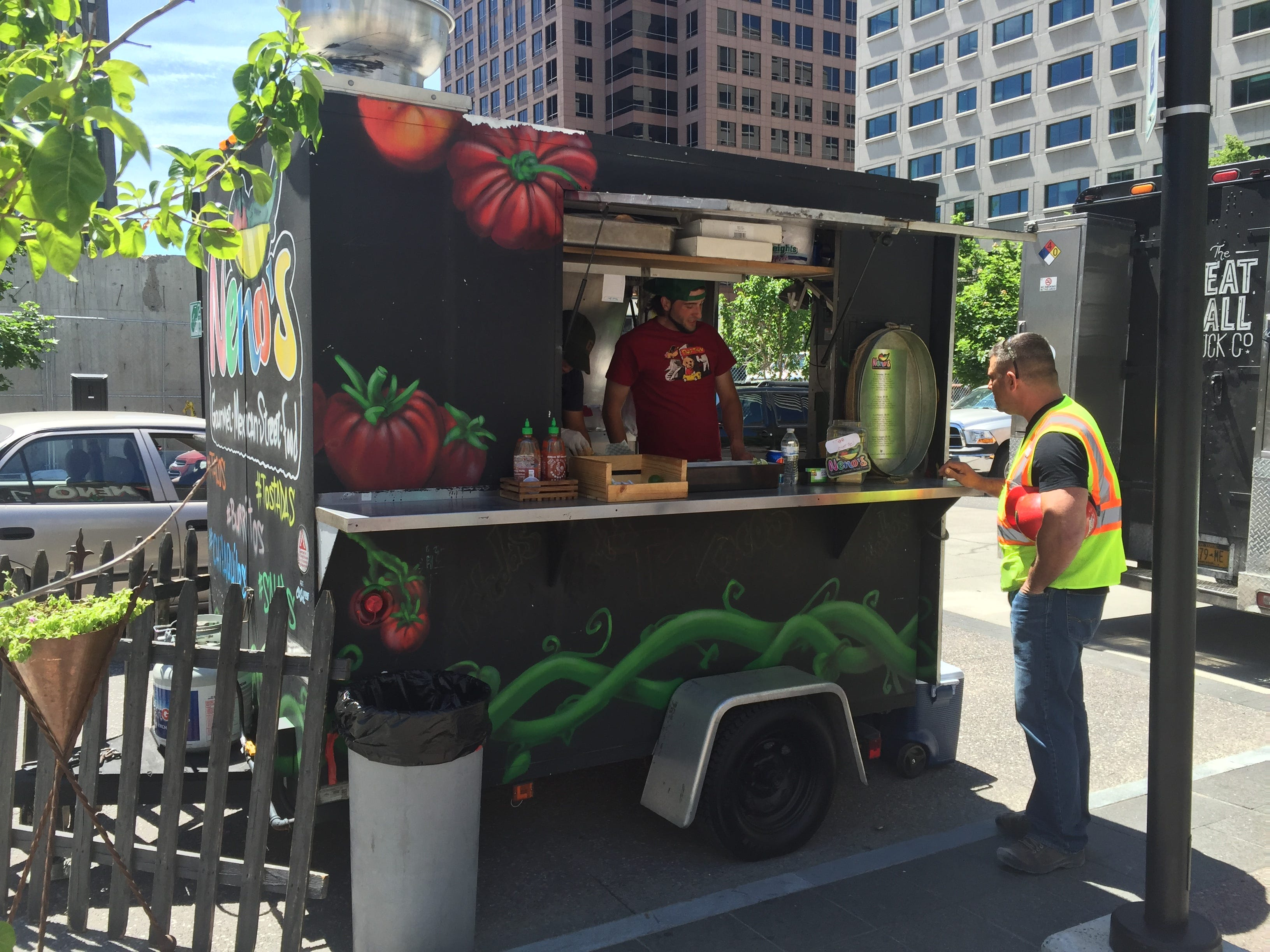 Neno's Gourmet Mexican Street Food started as a 10-foot trailer.