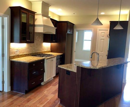 Wegman Companies Inc. built kitchen
