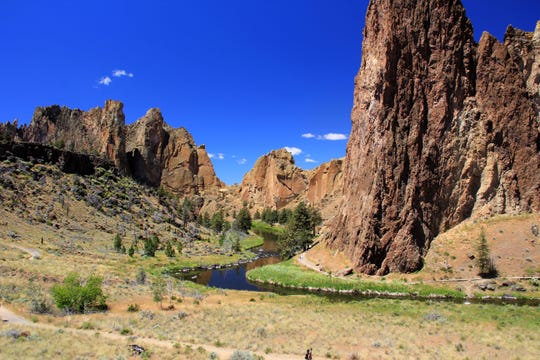 Smith Rock State Park has become increasingly crowded on weekends during the past two and a half years.