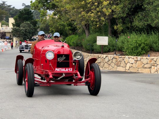 Each Thursday preceding the Pebble Beach Concours d'Elegance a select few of the show participants take part in the Tour d'Elegance- a scenic romp around the Monterey Peninsula that allows the public at large to see some of the finest cars in the world being driven on public roads. Amal Tanya sets off for a spirited cruise around the Monterey Peninsula in his 1921 Fiat 501 S Costa racer.