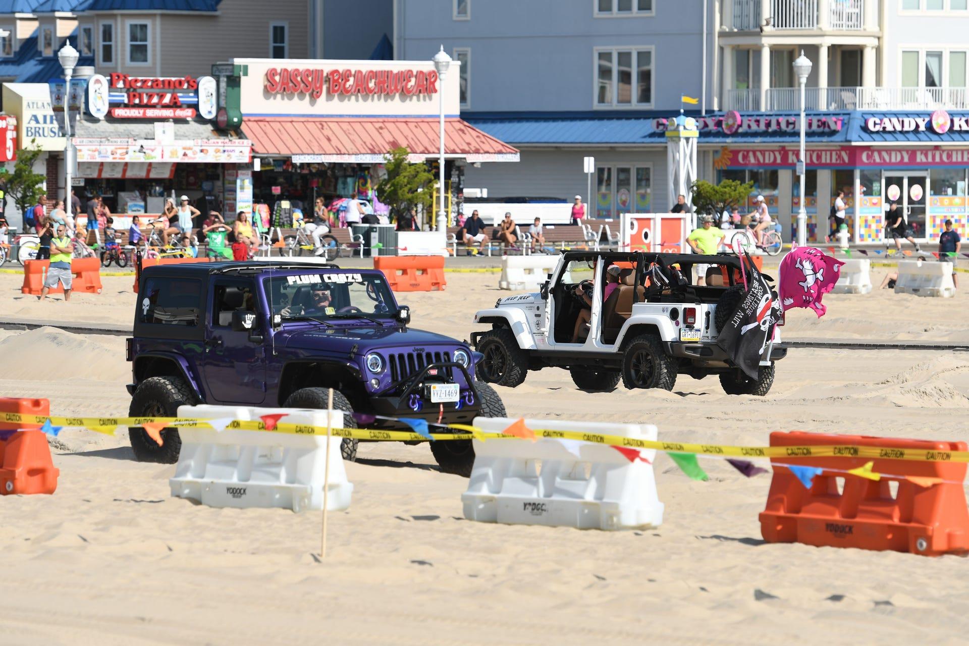 Ocean City Jeep Week >> Photos Ocean City Jeep Week Beach Obstacle Course