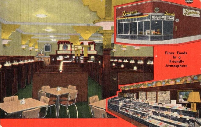 Lemonds' was one version of a dining establishment in the building at 11th Street and Phillips Avenue where Minervas now stands.