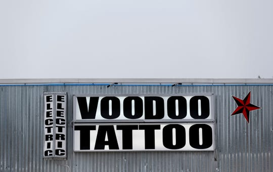 Electric Voodoo Tattoo on Thursday, Aug. 23, 2018.