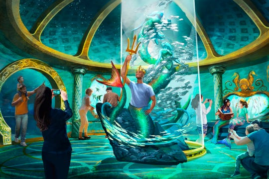 Renderings show what a new Branson attraction, Aquarium at the Boardwalk, could look like. According to the development company, Kuvera Partners, the attraction might open in 2020.