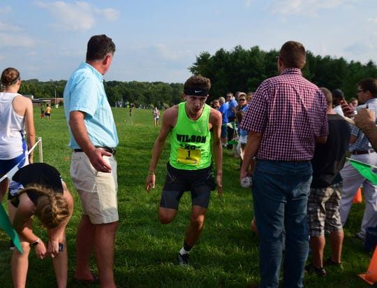 Vincent Leo led Wilson Memorial's effort Saturday at the Albemarle Invitational, placing 43rd with a time of 17:50.