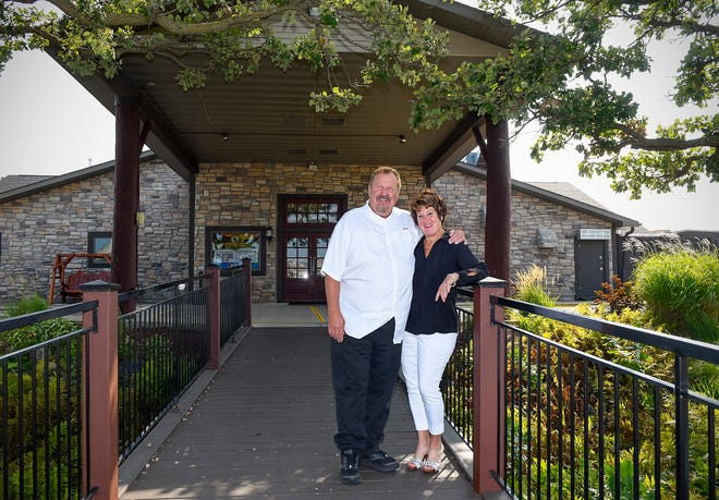 Mike and Mar Dols are the owners of Coyote Moon Grille, shown Thursday, Aug. 23, at Territory Golf Club in St. Cloud.