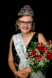 In this photo provided by Midwest Dairy, Rebekka Paskewitz poses for a photo in St. Paul, Minn, Wednesday, Aug. 22, 2018. The 20-year-old college student from Browerville has been crowned the 65th Princess Kay of the Milky Way.