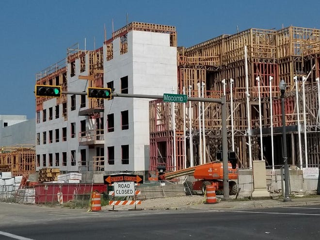 Officers received a call about a body found at the construction site of The Standard, a new $64 million, 254-unit student housing development at 517 W. Virginia St.