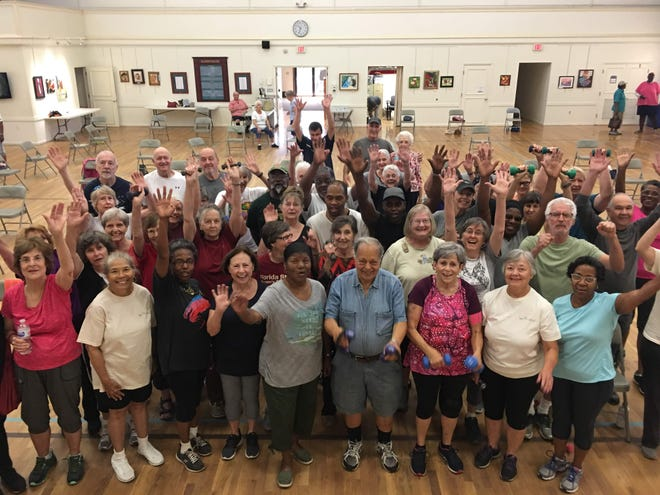 Tallahassee Senior Center participants of Life Exercise celebrate active aging! Celebrate the TSC's 40th Ruby Anniversary and attend an Open House on Tuesday from noon to– 6 p.m.