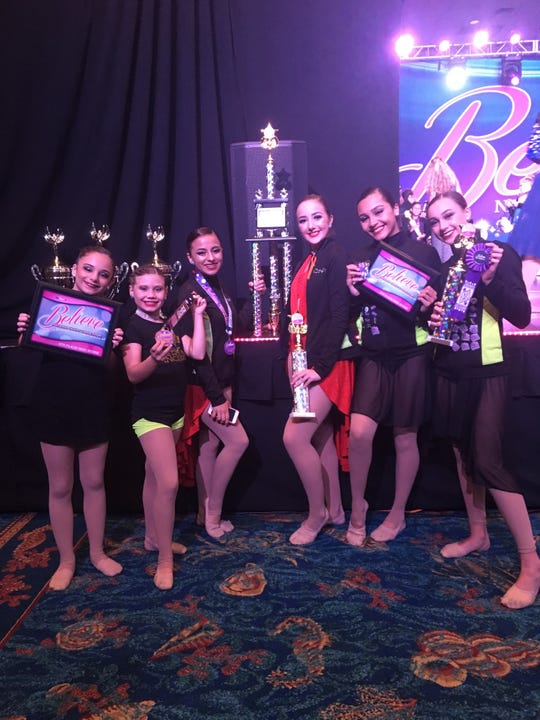 From left:  Angelica Mobley, Madeleine Mahaney, Lisbet Figueroa, Courtney Quinones, Isabella Gilarski, and Jordan Pagan.