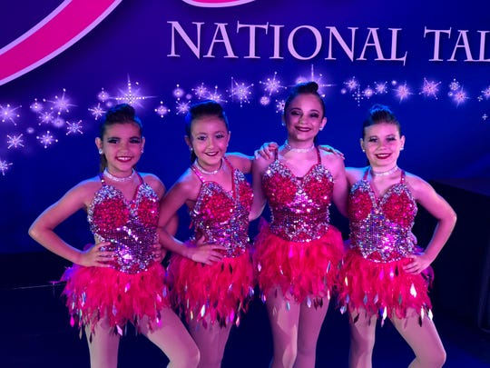 From left: Lily Acevedo, Isabella Porcelli, Angelica Mobley, and Madeleine Mahaney.