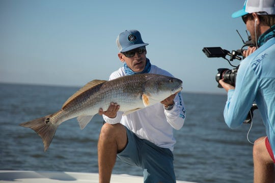 Capt. George Gozdz of Flatlined charters in Jensen Beach and the host of a new show coming soon to television, Unfathomed, is one of the competitors in Dancing with the Martin Stars Sept. 22.