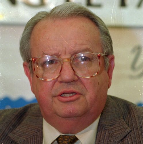 Dr. Laurance Nickey, former director of El Paso City-County Health District, dies  at 87