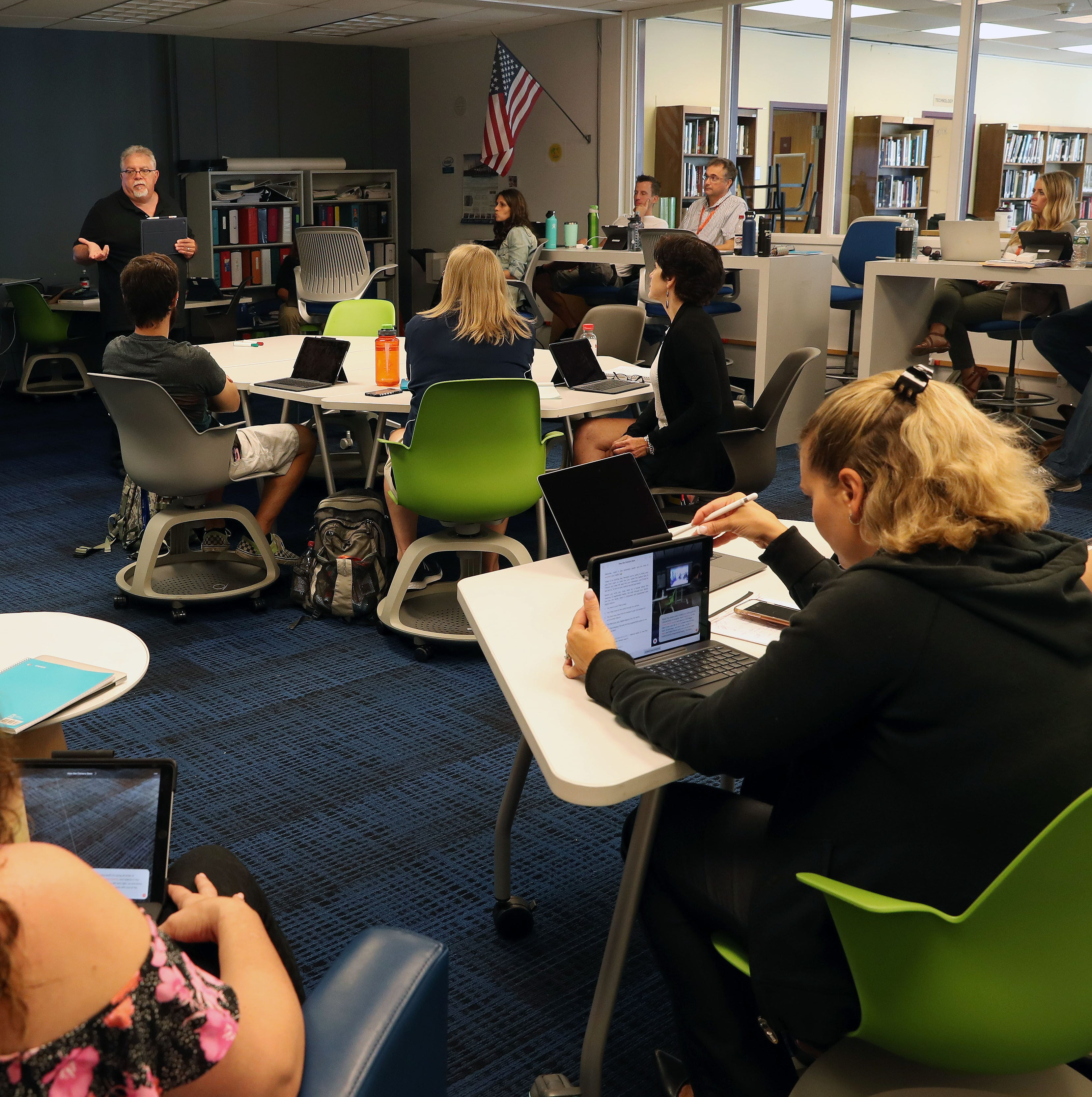 Briarcliff teachers are learning to code, too
