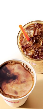 Dunkin Donuts' pumpkin and maple pecan coffee drinks will be available before Labor Day.
