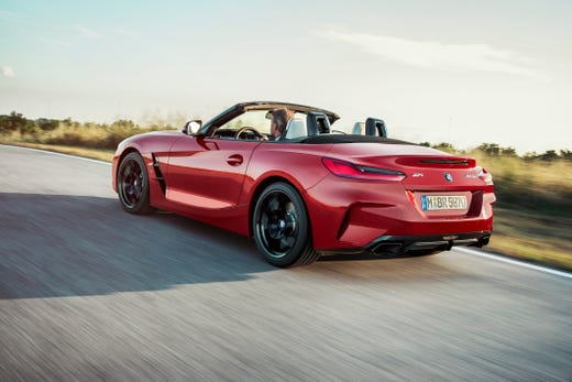 Bmw Z4 Roadster >> 2019 Bmw Z4 Roadster Revealed Open Top Vehicle Debuts At