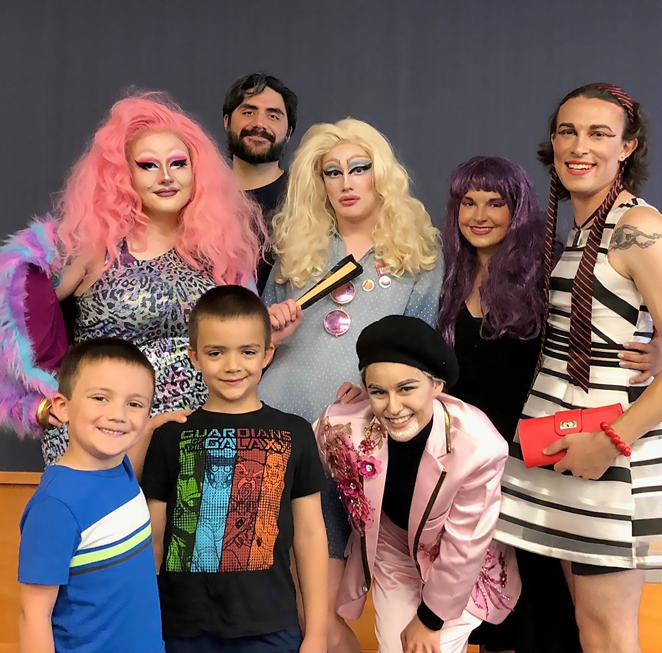 Science supports Evansville's 'Drag Queen Story Hour' | Webb