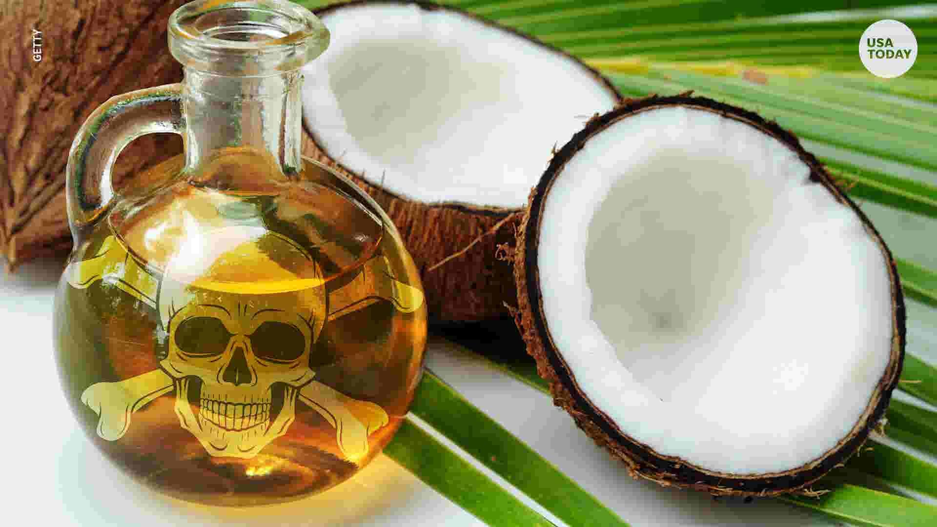 harvard professor coconut oil is pure poison