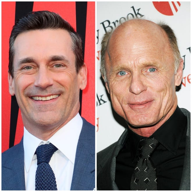 "Jon Hamm and Ed Harris will star in ""Top Gun: Maverick."""