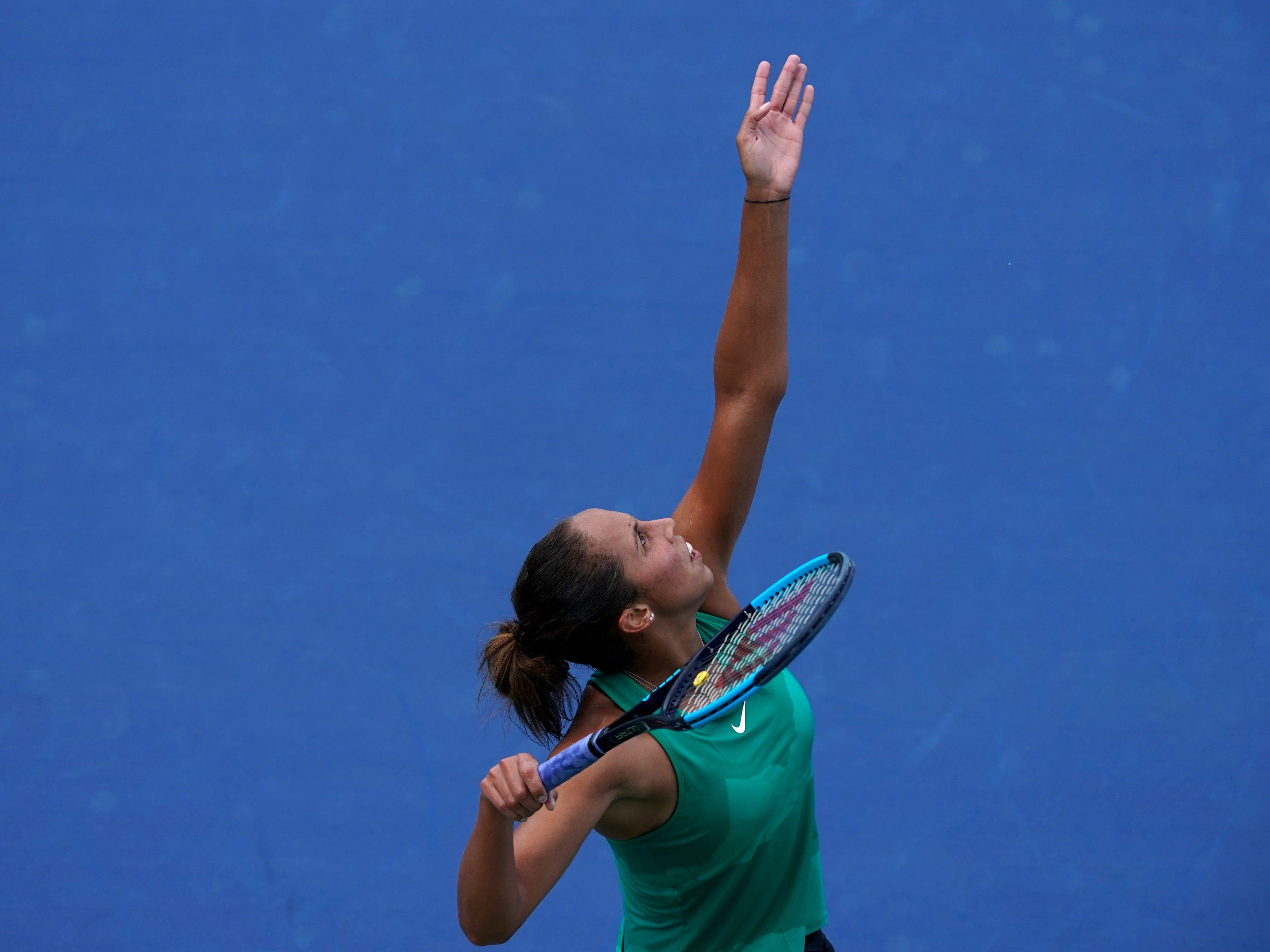 Madison Keys (0-3).