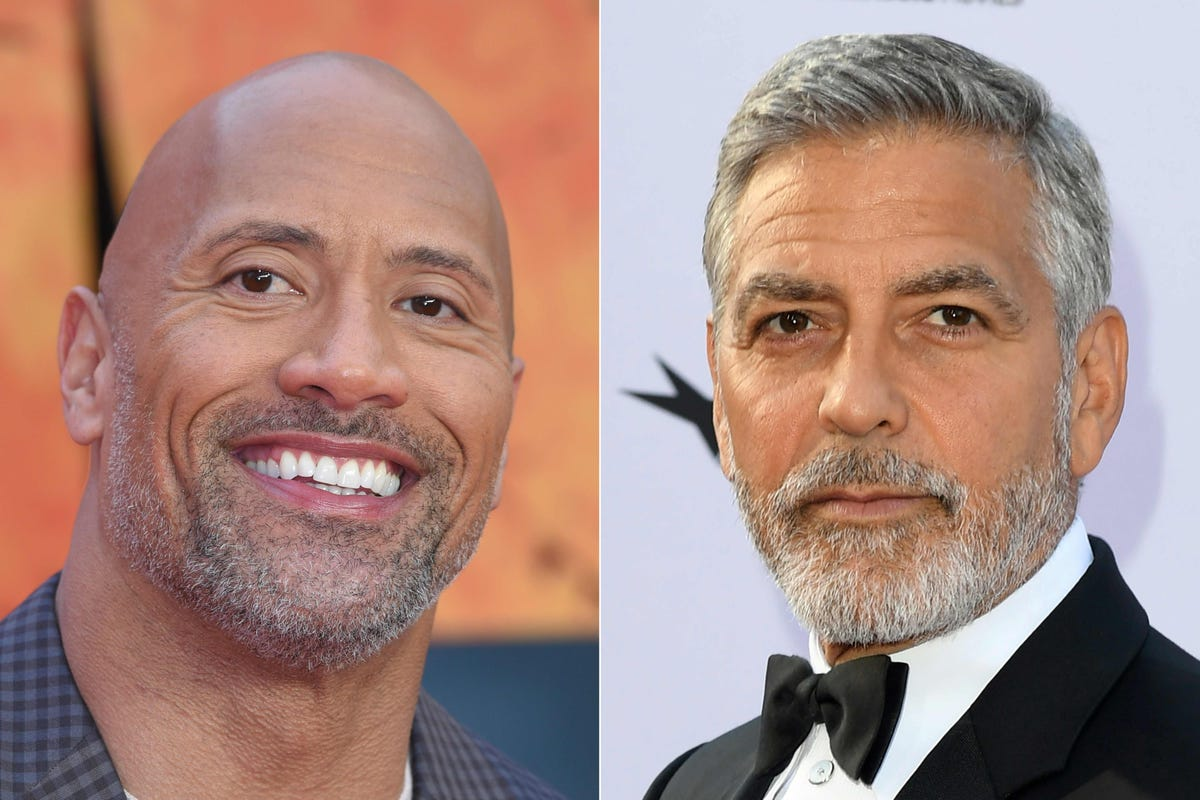 George Clooney, Dwayne Johnson top Forbes highest-paid actors list