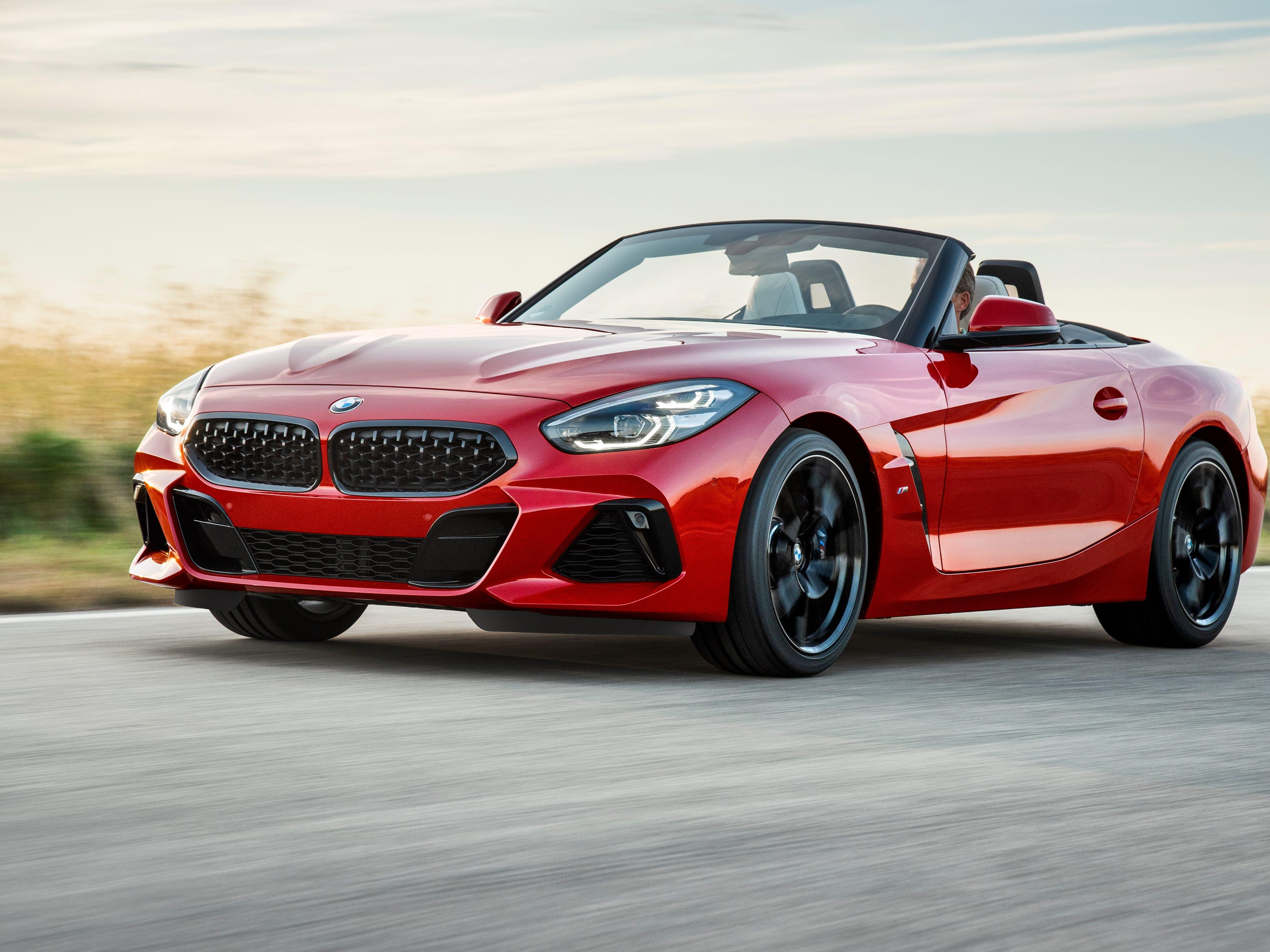 The 2019 BMW Z4 Roadster.