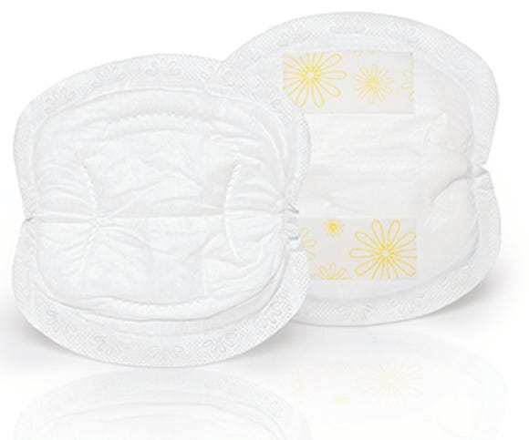 Medela disposable nursing pads.