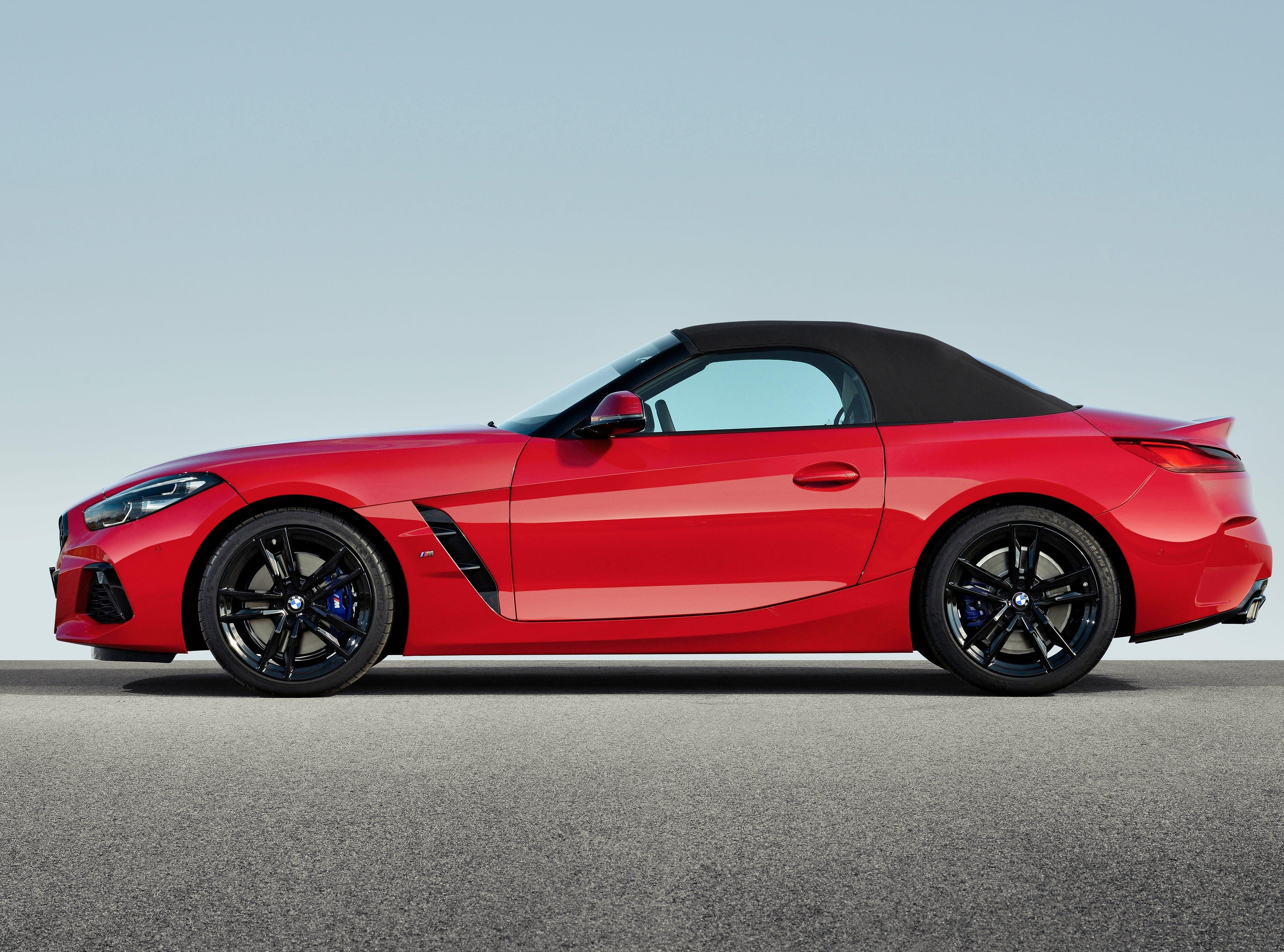 The BMW Z4 Roadster.