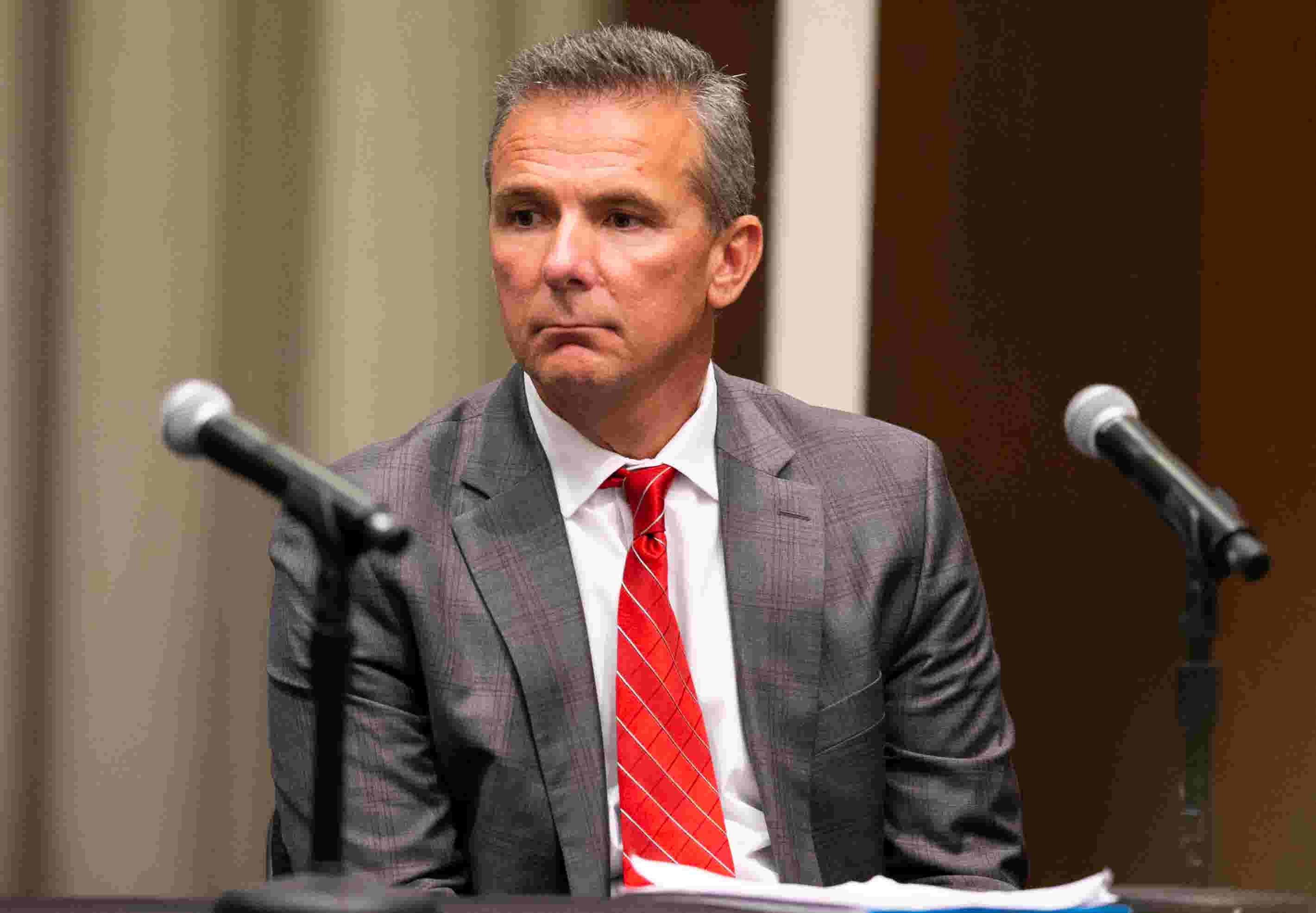 Ohio State suspends football coach Urban Meyer three games   I want to  apologize  bbbce917c