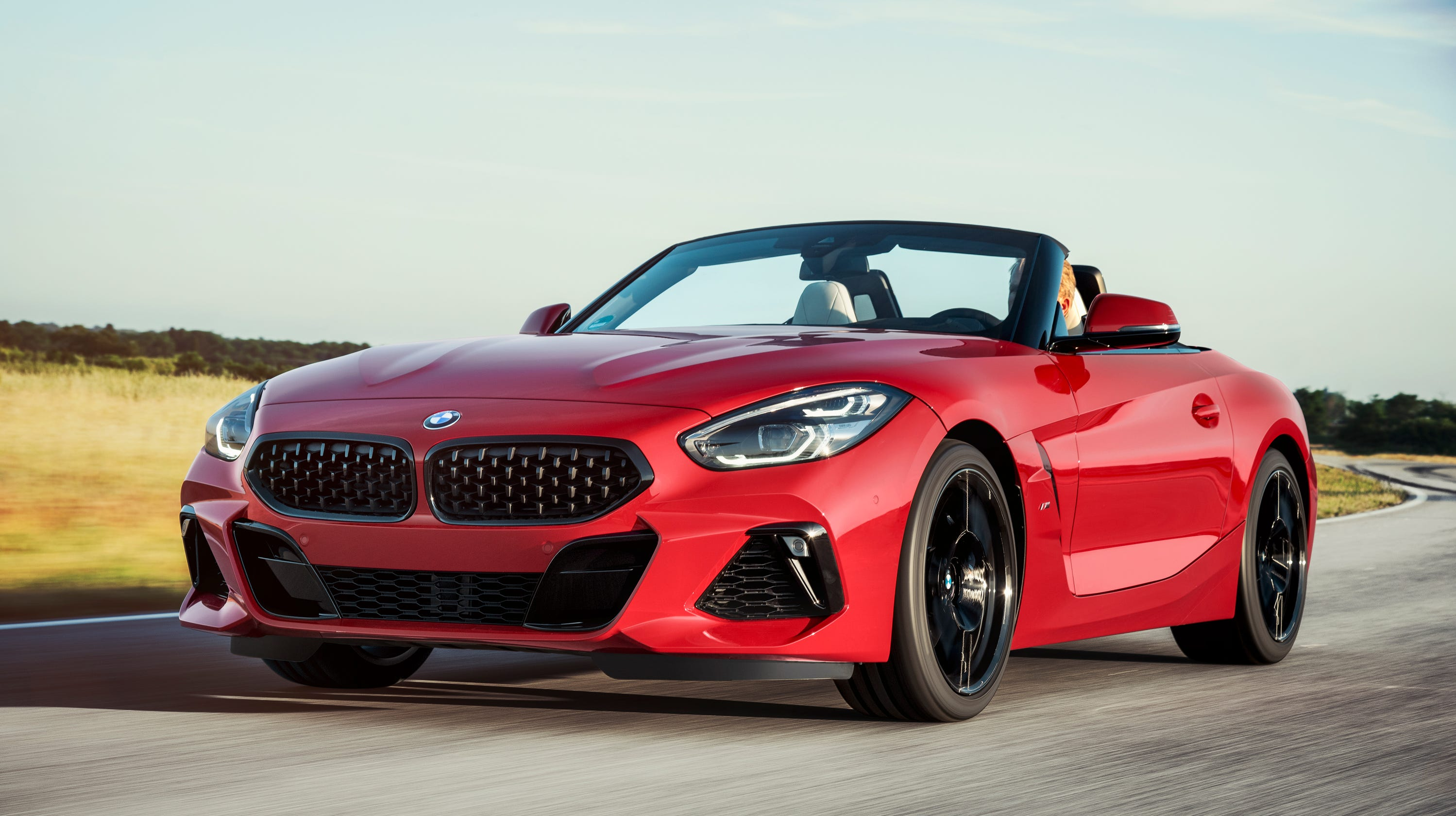 2019 bmw z4 roadster revealed open top vehicle debuts at pebble beach