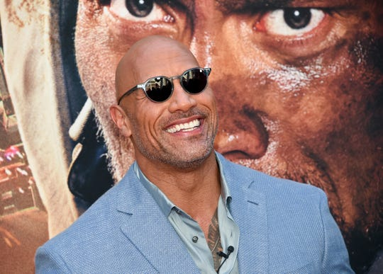 Actor Dwayne 'The Rock' Johnson posted on Instagram he's in the Four Corners area of New Mexico filming.