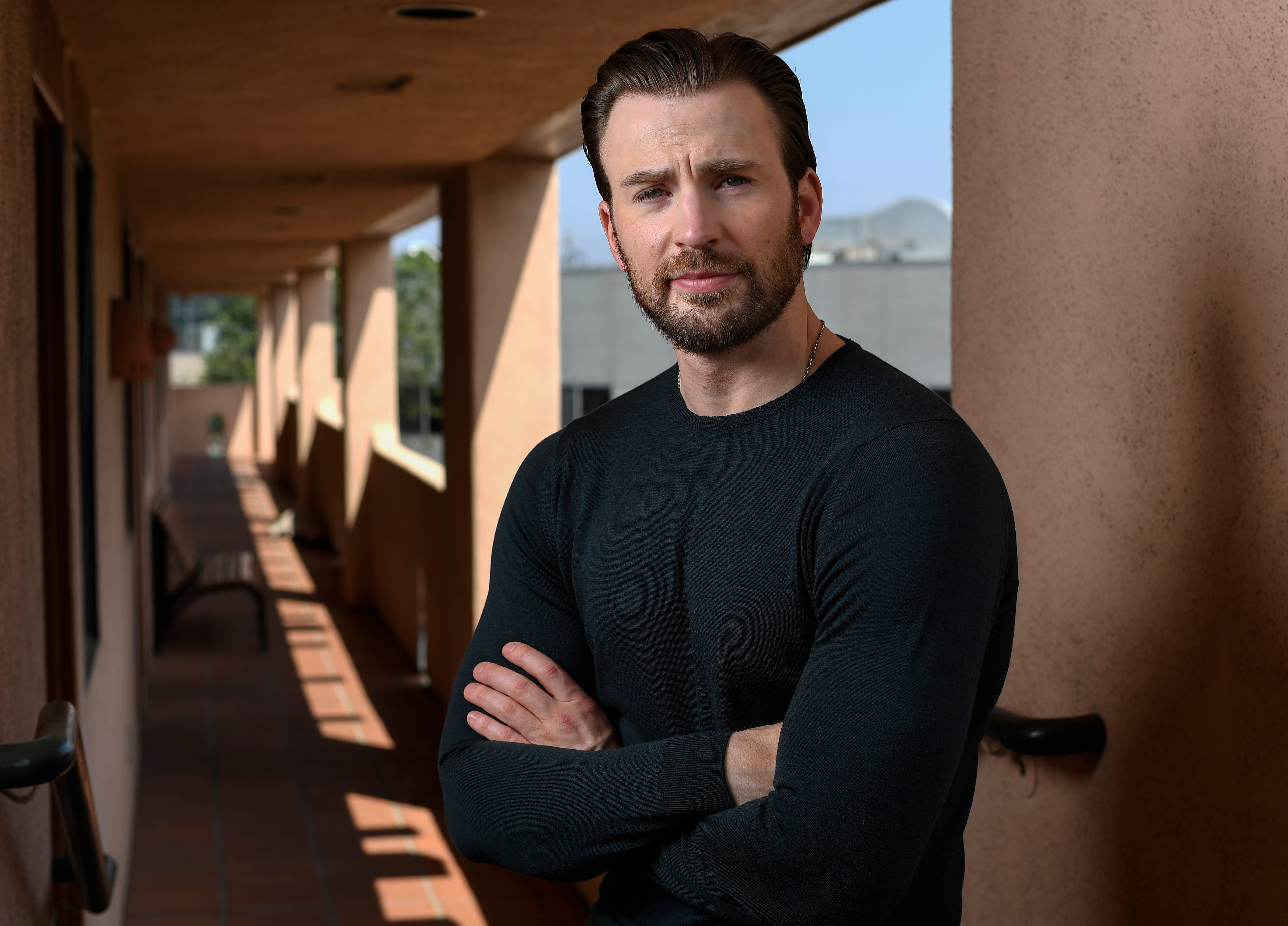 Has Chris Evans been discharged as 'Captain America'?