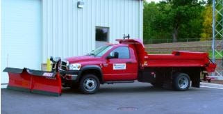 A Dodge RAM 5500 used by the Wrightstown Department of Public Works was stolen Thursday. The stolen vehicle did not have a plow attached.