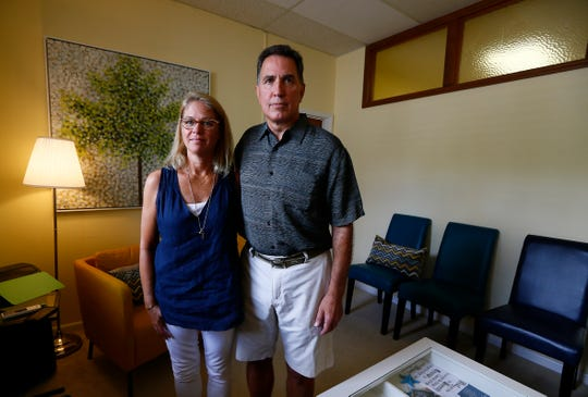 Lori Jarck, of Rumson and Mike DiMaio of Lincroft at Stephy's Place