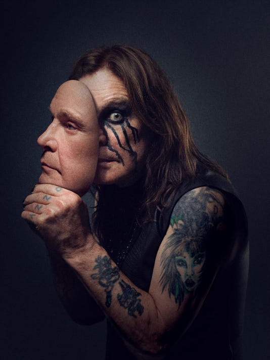 Ozzy two faces