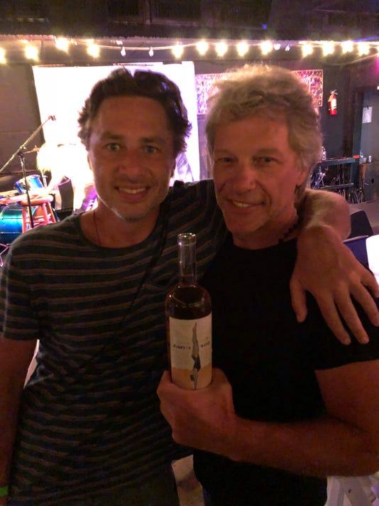Bon Jovi And Zach Braff
