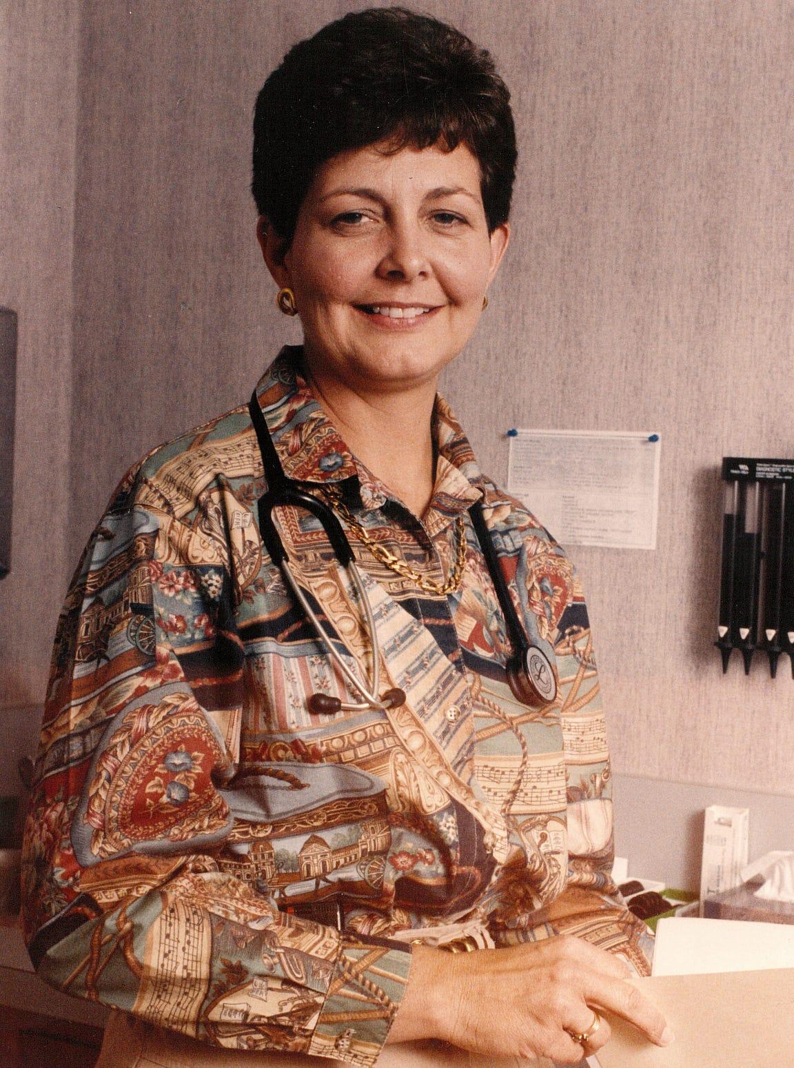 Rae Ann Hamilton in 1994.
