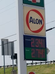 An Abilene resident took a photo of the price of gas in Wichita Falls when the price was much higher in Abilene. Like others, he wondered why.