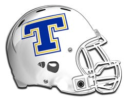 Trent football helmet