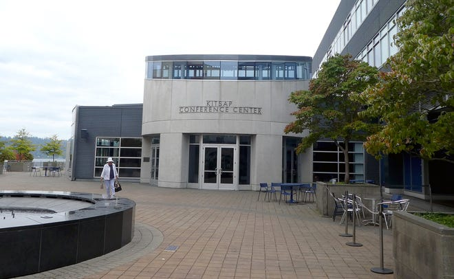 The Kitsap Conference Center in downtown Bremerton.