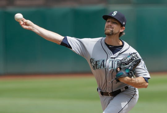 Mike Leake in August: 20 2/3 innings (three starts), 19 hits, five earned runs, 15 strikeouts, two walks, 2.18 ERA