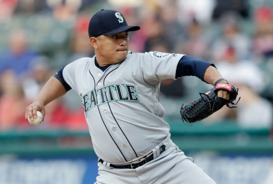 Mariners starter Erasmo Ramirez in August: 10 innings pitched (two starts), 7 hits, 1 earned run, six strikeouts, 4 walks, 0.90 ERA
