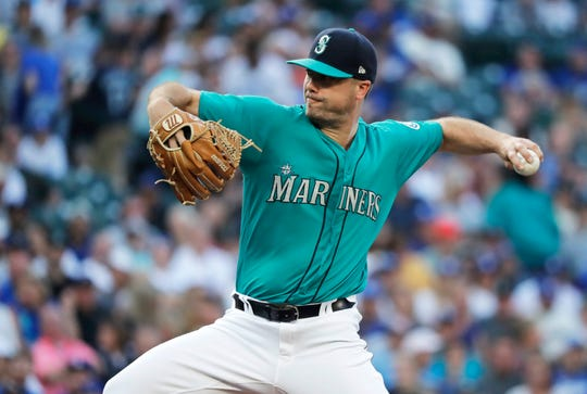 Mariners starter Wade LeBlanc in August: 20 innings (four starts), 22 hits, 15 earned runs, 16 strikeouts, five walks, 6.74 ERA