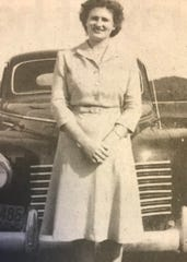 As a young woman Sadie Berry worked at Beacon Manufacturing in Swannanoa after moving to the area from McDowell County, where she was born.