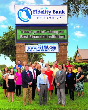 Fidelity Bank of Florida is a locally-owned, community bank that has served Brevard and Seminole counties since 1990. The bank is the Cocoa Beach Chamber of Commerce's Business Champion of the Month.