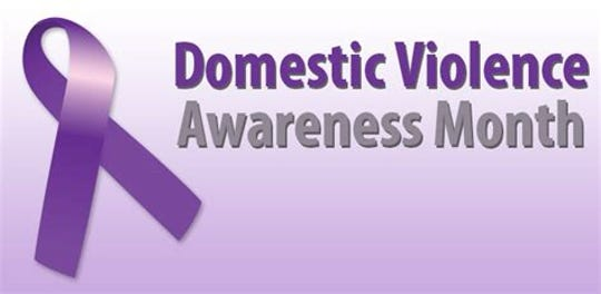 Domestic Violence Awareness Month is in October.