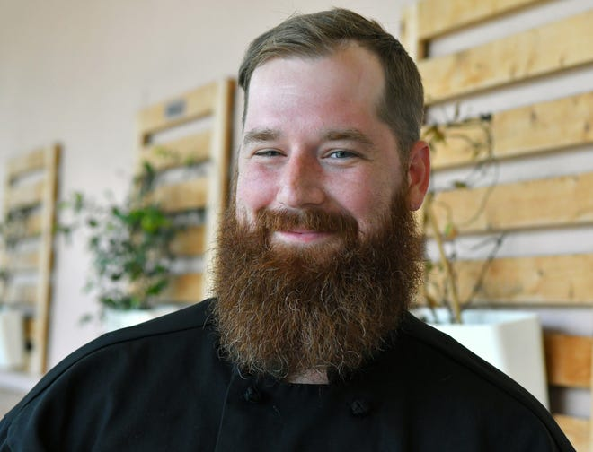 Brandon Basista, executive chef of The Bearded Chef food truck and catering in Melbourne, was among five chefs from across the country named a winner in the James Beard Foundation's Blended Burger Project.